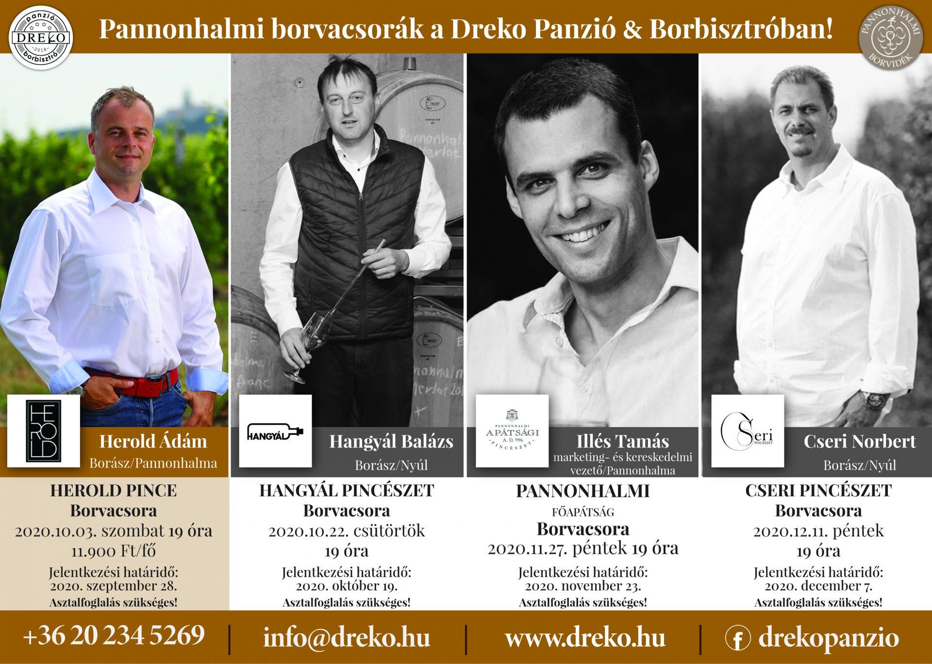 Herold Pince Borvacsora